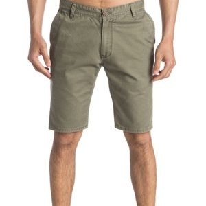 QUIKSILVER Straight Tapered Fit Chino Shorts